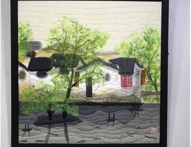中国风水墨拼布教程-拼布高阶课程