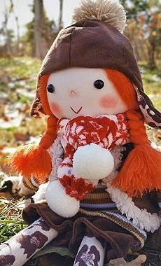 小雪飞花手作之《暖秋》