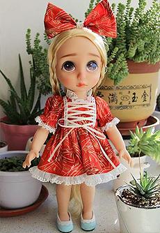 【维乐手作】新年穿新衣,红色裙子