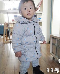 【哎布布】灰色安奈儿长款棉服 附制作过程 BB'show 附剪裁图
