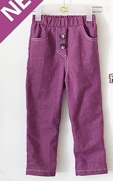 【哎布布】预备秋装:紫长裤 附剪裁图 大量BB秀。。。