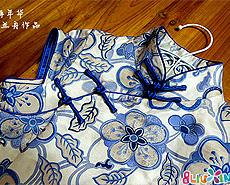 兰舟作品-我做的第一件旗袍 附裁剪图