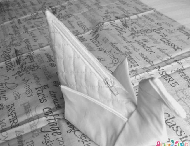 纸鹤包原创制做教程(包括包包秀、图纸)